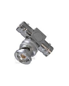BN73 Trompeter Tee Adapter TRB Jack-Plug-Jack 3-Lug Female-Male-Female