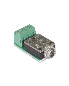 3.5mm field termination connector female