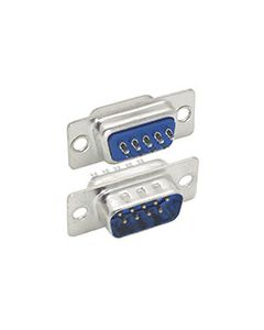 DB9 male solder connectors Tray 50